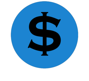 dollar sign icon for the pay a bill button