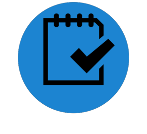 checklist icon for the find a form button